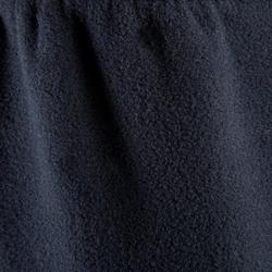 兒童款航海刷毛長褲-深藍色