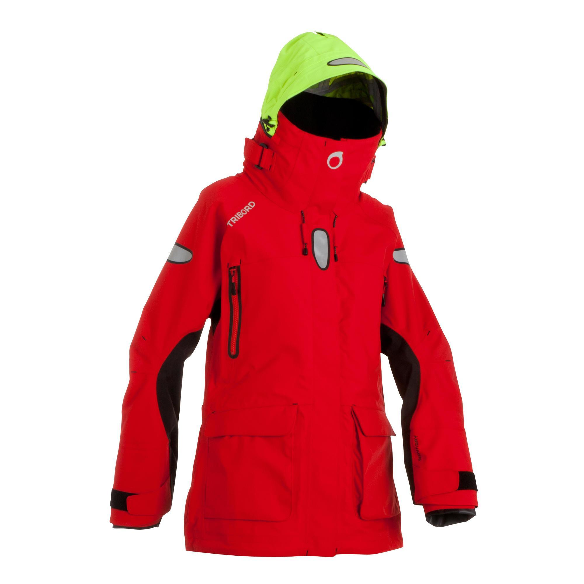 differently nice cheap shop best sellers Veste de quart imperméable femme OFFSHORE rouge