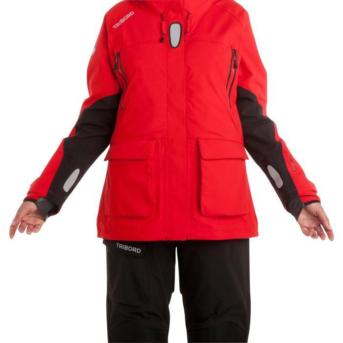 Veste de quart femme Ocean 900 rouge