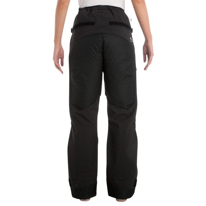 Surpantalon imperméable de voile femme OFFSHORE 900 noir