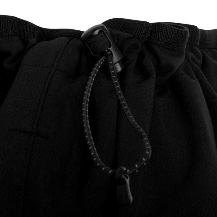 Sobrepantalón impermeable de vela mujer OCEAN 900 negro