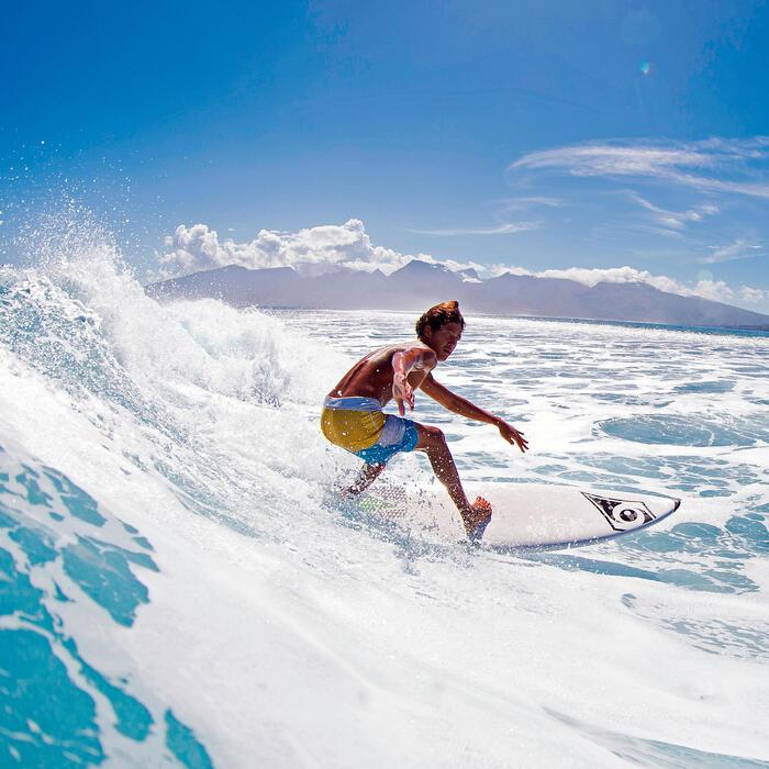 """Planche de surf Bic 6'7"""" avec pad sous le pied arrière. - 36313"""