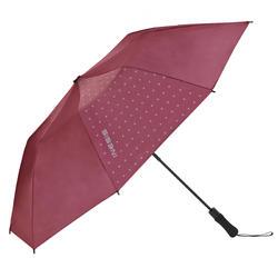 100 uv umbrella burgundy