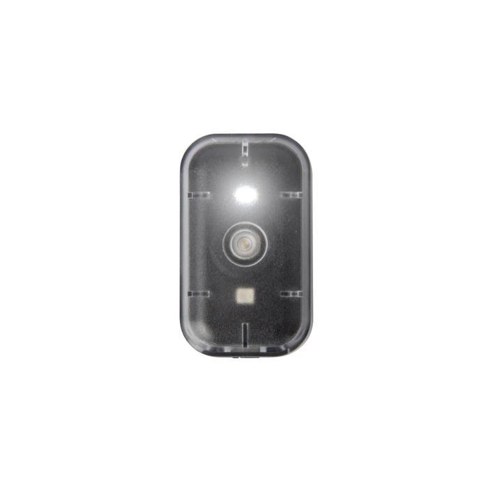 KIT ECLAIRAGE VELO LED VIOO CLIP 500 AVANT/ARRIERE NOIR USB - 363412