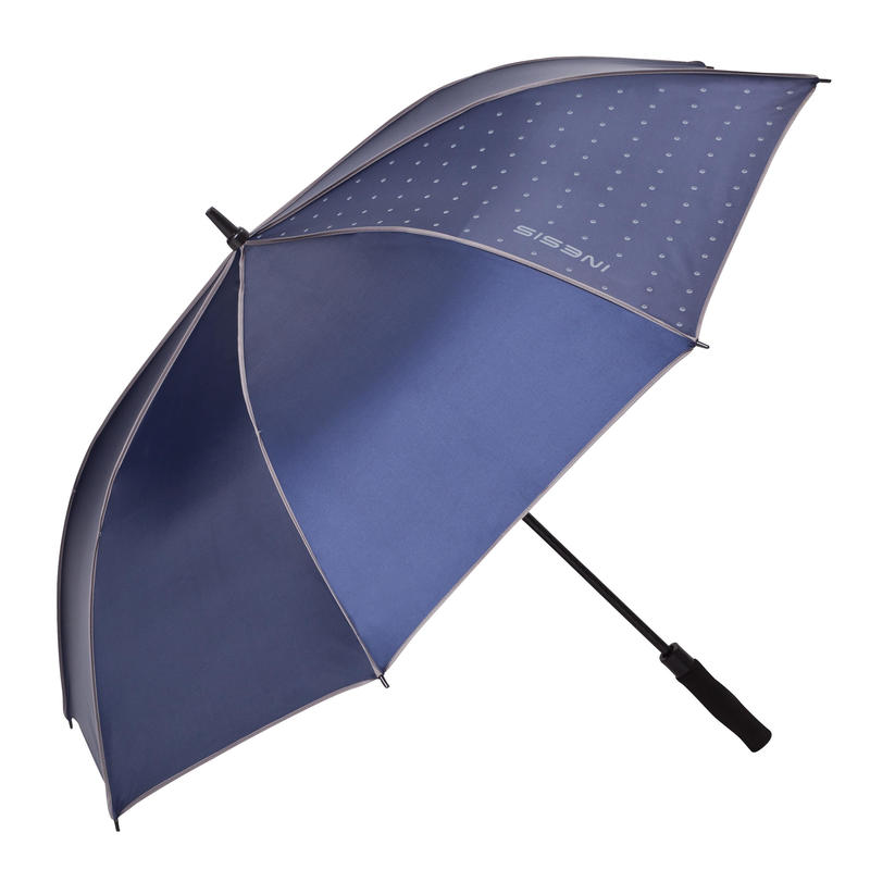 500 Golf UV Umbrella - Navy Blue
