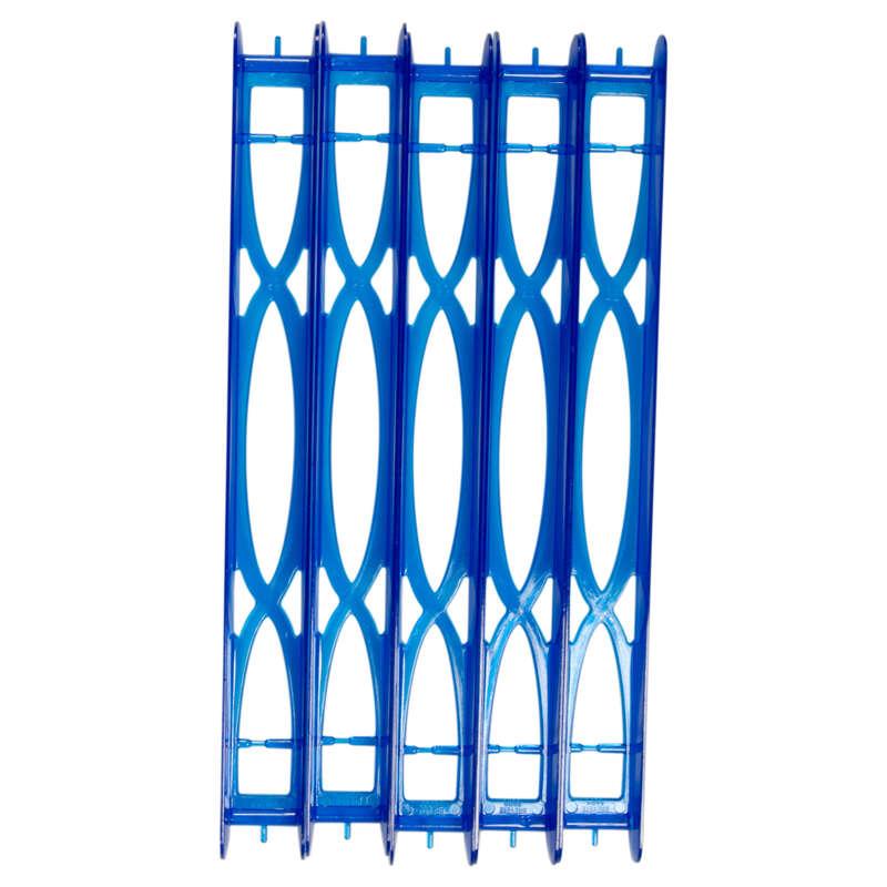 Posen Stippangeln und Zubehör Angeln - Schnurhalter Winders 22 cm, 5x CAPERLAN - Futter, Köder und Zubehör