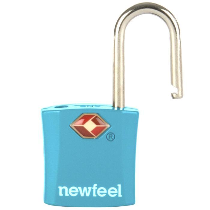 Candados Senderismo Newfeel Lote 2 Azul Viaje