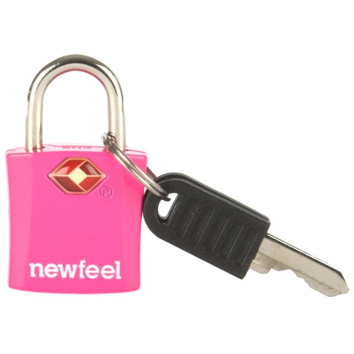 Lot de 2 Cadenas à clés rose