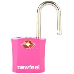Lot de 2 cadenas à clefs roses