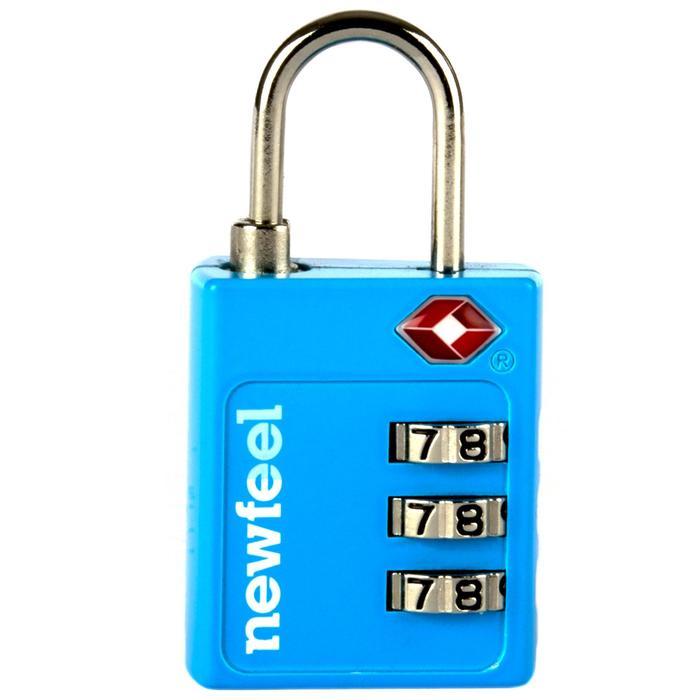 Zahlenschloss TSA blau