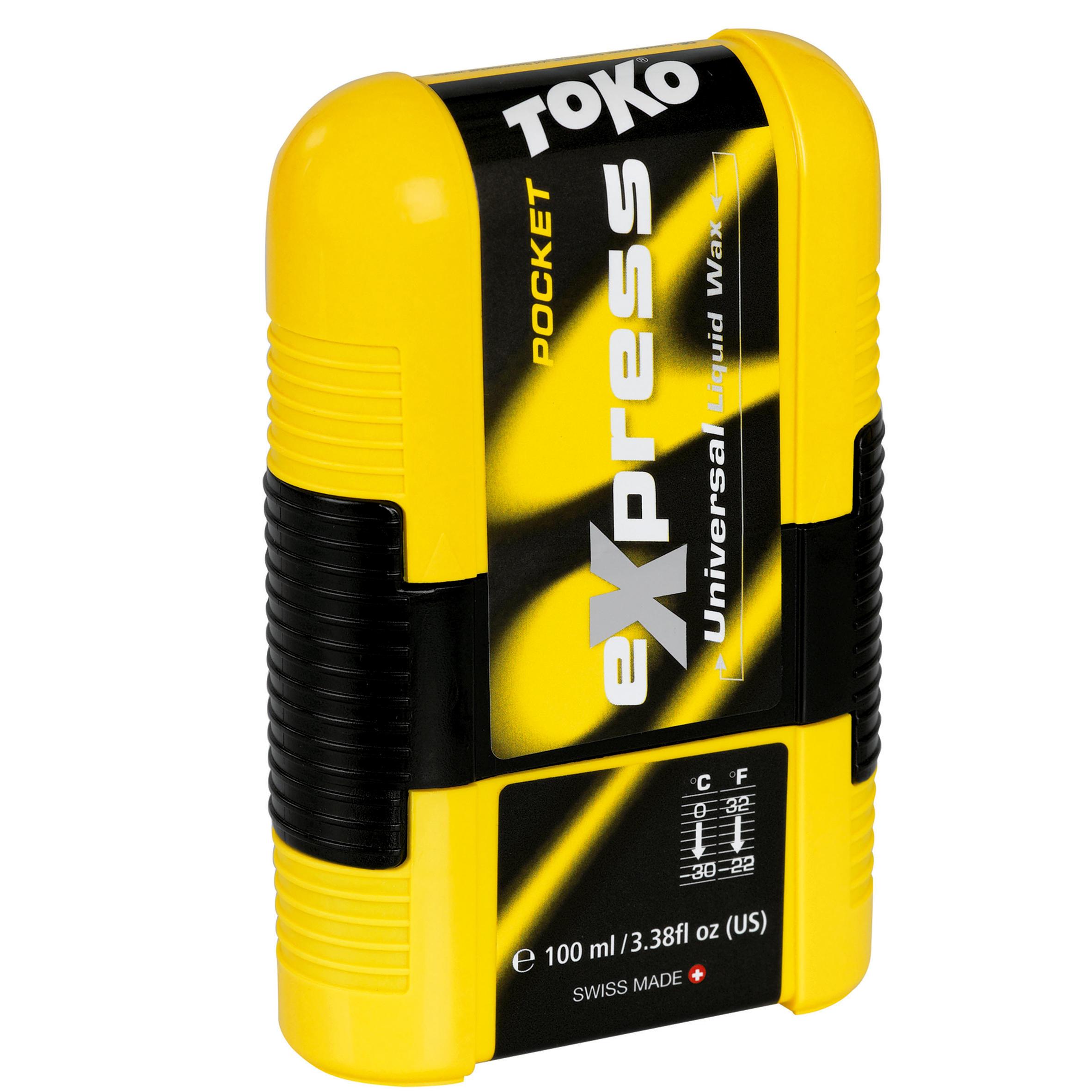 Toko Wax Express Pocket 100 ml voor ski's/snowboards/stijgvellen van toerski's. thumbnail