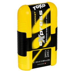 Cera Express Pocket 100 ml para esquí, snowboard o pieles de esquís de travesía.