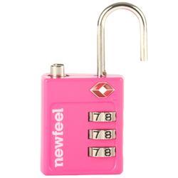 Candado Código Viaje Senderismo Newfeel TSA Travel Rosa
