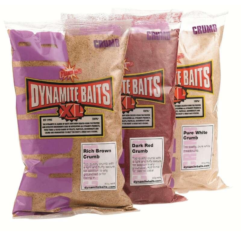 FISHING BAIT, ADDITIVES Fishing - XL Red Crumb 900g DYNAMITE BAITS - Coarse and Match Fishing
