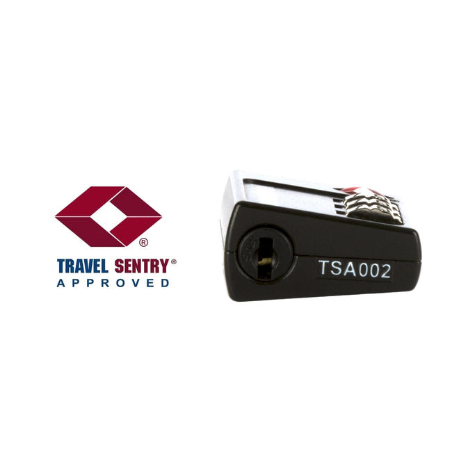 TSA Coded Travel Padlock - Black