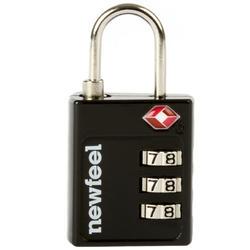 TSA編碼的掛鎖-黑色
