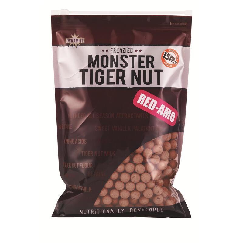 RED-AMO Monster Tiger Nut Shelf Life Boilies 15mm - 1kg