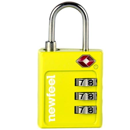 tsa code locks yellow