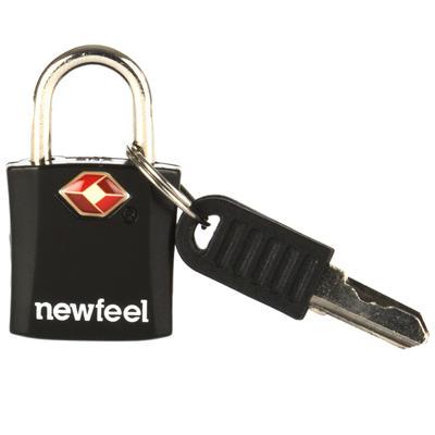 Навісний замок з ключем, 2 шт. – Чорний