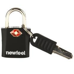 Kofferschloss mit Schlüssel 2er-Set schwarz