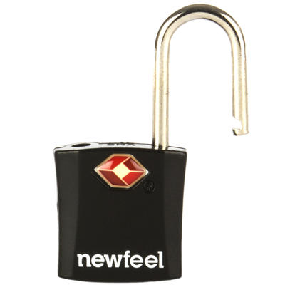 מארז 2 מנעולים עם מפתחות - שחור