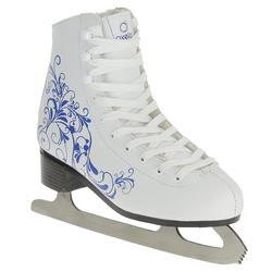 Dames kunstschaatsen Artistic 1 Warm wit/blauw