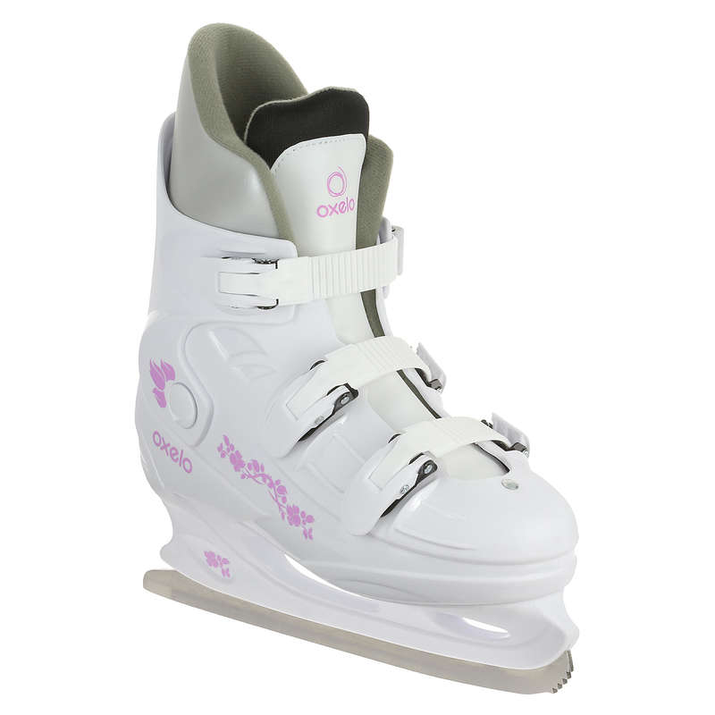 ADULT FITNESS ICE SKATES Ice Skating - Fit1 Women's Ice Skates OXELO - Ice Skating