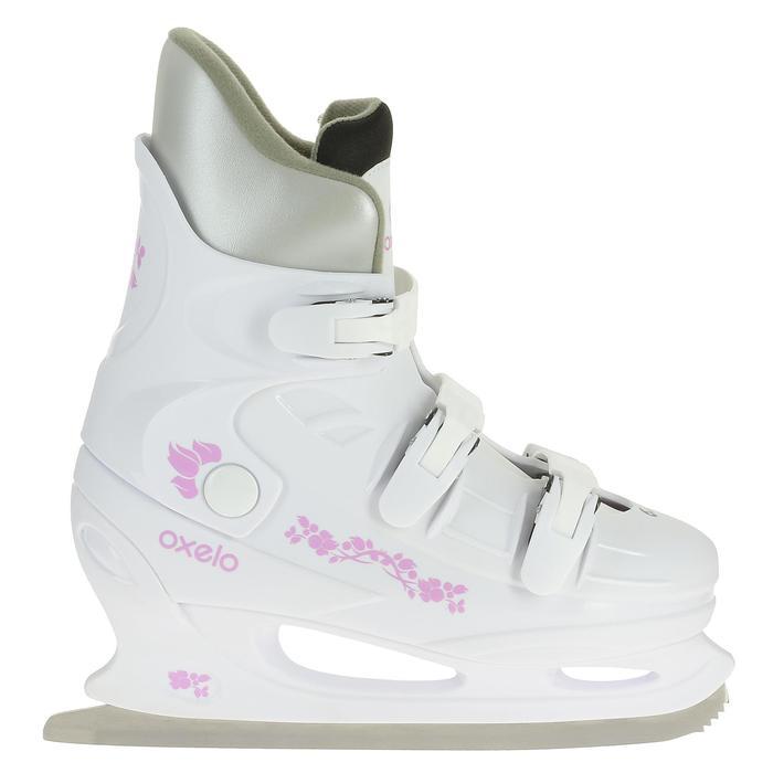 Damesschaatsen Fit 1 wit