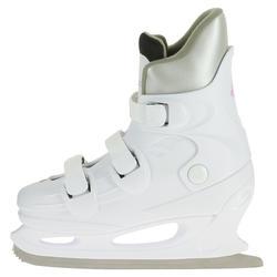 Patins à glace FIT1 Femme blanc
