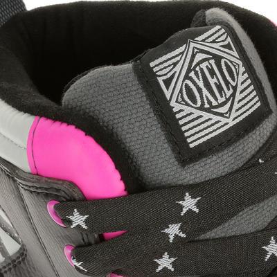 Fitness adulto QUAD 5 negro rosado
