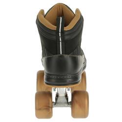 Rolschaatsen voor volwassenen Quad 5 alu zwart/brons - 365374