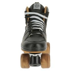 Rolschaatsen voor volwassenen Quad 5 alu zwart/brons - 365375