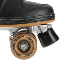 Rolschaatsen voor volwassenen Quad 5 alu zwart/brons - 365381