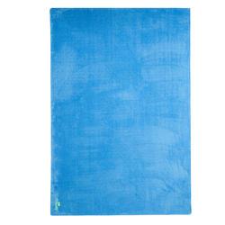 Zeer zachte microvezel handdoek blauw maat XL 110 x 175 cm