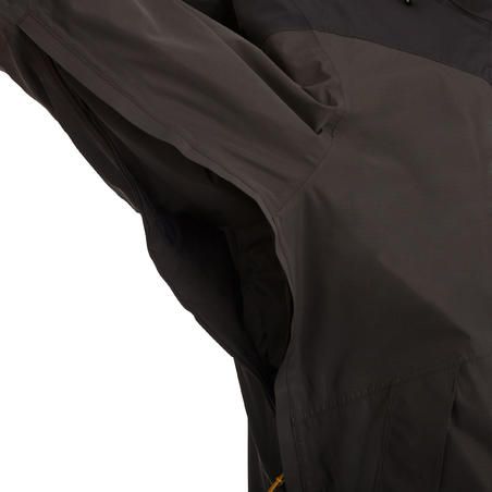 Forclaz 200 3-in-1 Men's Hiking Rain Jacket - Dark Brown