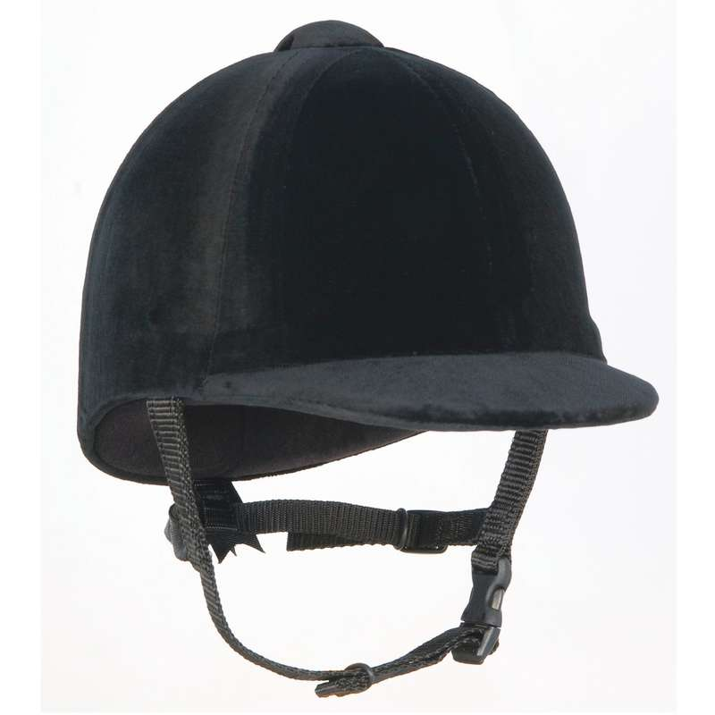 RIDER HELMETS Horse Riding - CPX-3000 Riding Hat - Black CHAMPION - Horse Riding Protection