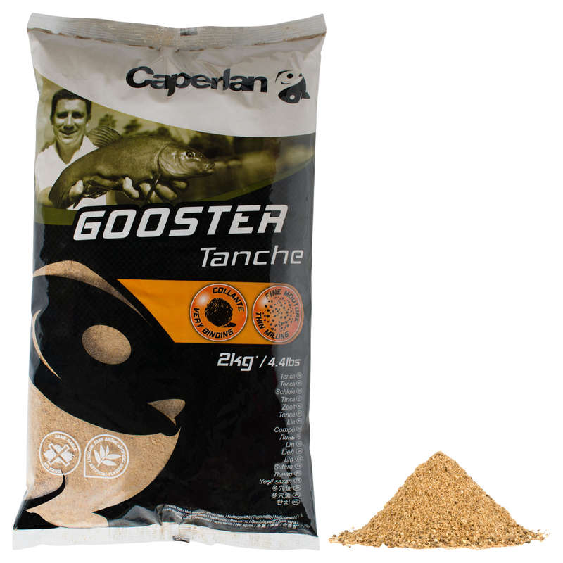 FISHING BAIT, ADDITIVES - GOOSTER TENCH 2 KG CAPERLAN