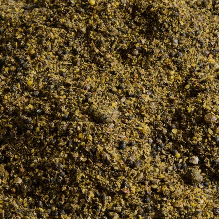 Viszaad gemalen en gebrand hennepzaad 5 kg Caperlan