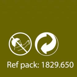 Meel statisch vissen dunne maïskoek 5 kg - 367296