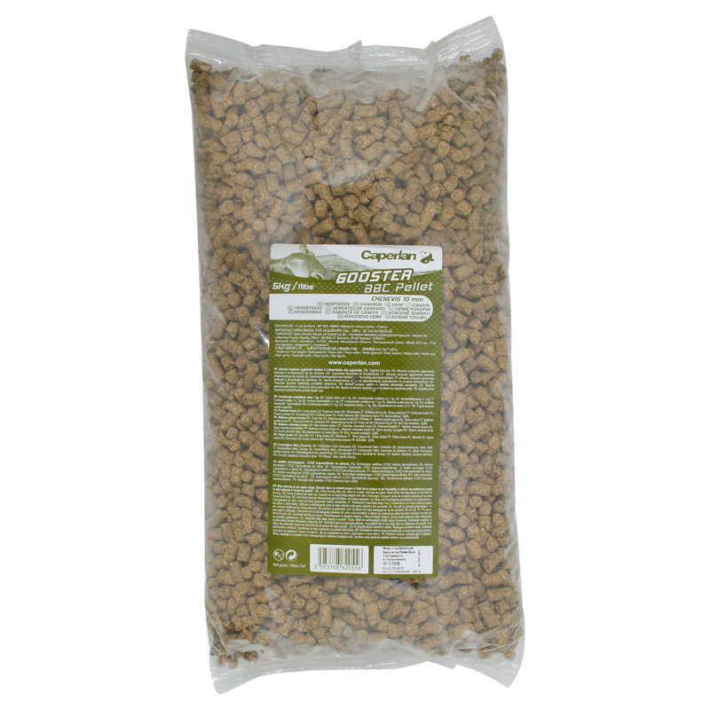 CARP BAITS, BAITING EQUIPEMENT Fishing - GOOSTER PELLET BBC HEMP 10 CAPERLAN - Carp Fishing