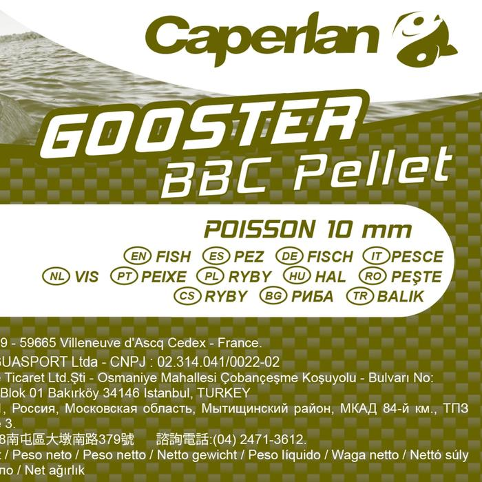 Pellets pêche de la carpe Baby Corn Poisson 10 mm 5 kg