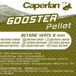 Betaïnepellets voor karpervissen 6 mm 5 kg