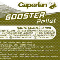 GOOSTER PELLET HIGH QUALITY 3mm 5kg Carp fishing pellets