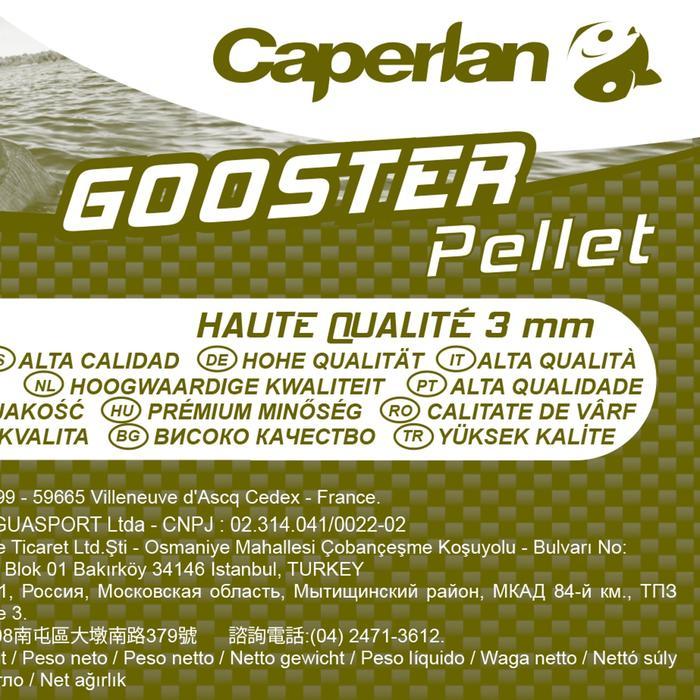 Tabletas pesca de la carpa GOOSTER TABLETA ALTA CALIDAD 3 mm 5 kg