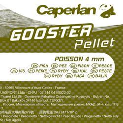 Pellets karpervissen Gooster Pellet Fish 4 mm 5 kg