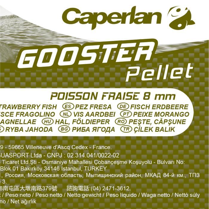 Pellets Gooster Fisch Erdbeer 8mm 5kg Karpfenangeln