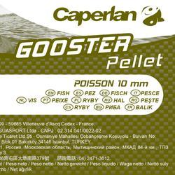 Pellets pêche de la carpe GOOSTER PELLET FISH 8 MM 5kg