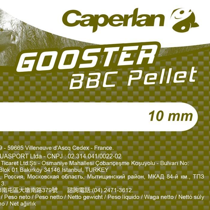 Pellets pesca de la carpa GOOSTER BBC 8 MM 5 KG