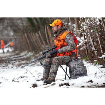 Silla de caza mochila camuflaje marrón