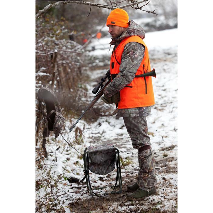 Mitaines chasse 100 laine marron - 36804